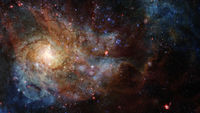 Space Galaxy. Elements of this image furnished by NASA