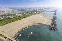 Aerial View - Taiwan  west  Coast