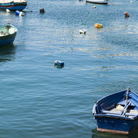 Boats in port of Malta
