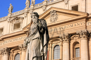 Statue of Saint Peter, Maderno facade, Saint Peter