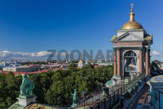 View from Saint Isaac's Cathedral - St. Petersburg Russia