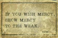 show mercy Rumi