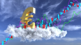 Euro Revaluation Candlestick Chart