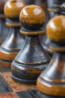 black pawn pieces