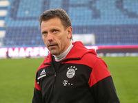 Cheftrainer Holger Seitz  FC Bayern München II DFB 3.Liga Saison 2020-21