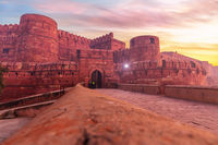 Agra Fort, famous place of visit in India