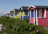 Strandhütten in Skanör