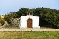 Kleine Kapelle Ermita de Santa Clara oberhalb von Valhermoso auf der Insel La Gomera