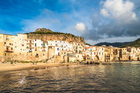 Cefalu, medieval village of Sicily island, Italy