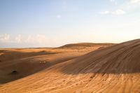 Stück von einer Wüste