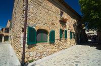 Monteriggioni, Toskana, Italien - Monteriggioni, Tuscany, Italy