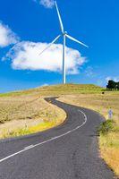 Snowy Mountains Wind Farm in Australia