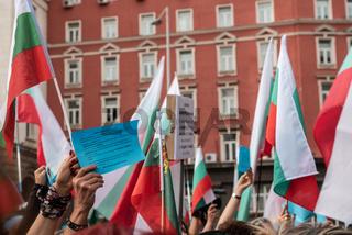 Anti Government Protests, Sofia, Bulgaria
