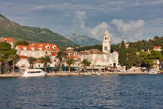 Der romantische Urlaubsort Cavtat in Kroatien