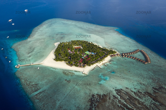 Touristeninsel, Alimatha, Malediven