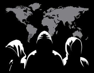 Three anonymous and maps the world i