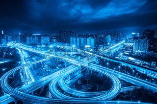 city interchange overpass