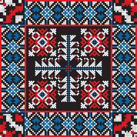 Romanian traditional pattern 202