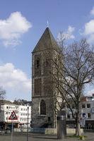 denkmalgeschützter Turm der ehemaligen Kirche Klein Sankt Martin
