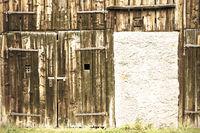 Old blackened wood
