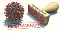 Reisewarnung wegen Corona-Virus