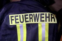 Eine Jacke eines Feuerwehrmann