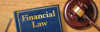 A gavel with a law book - Financial Law