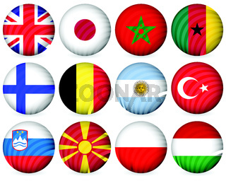 national circle icon collection 3