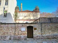 Blick auf  Synagoge  Jüdische Gemeinde zu Halle (Saale)
