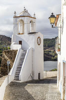 Uhrturm, clock tower (Torre do Relogio), Mertola, Alentejo, Portugal