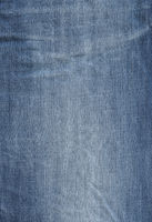 Old used blue denim texture background