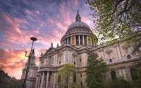 St. Paul's Cathedral in central London