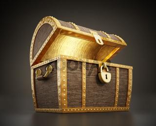 Treasure chest full of treasures