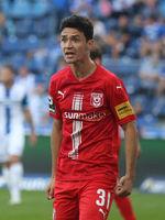 deutscher Fussballer Niklas Landgraf  Hallescher FC  DFB 3.Liga Saison 2020-21