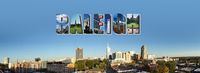 Downtown Raleigh banner panorama