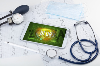 Tablet pc and medical tools