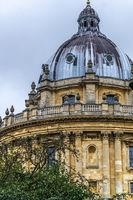 Die Radcliff Camera ist ein Gebäude der historischen Stadt Oxford