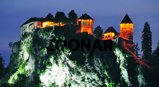 Burg von Bled am Bleder See