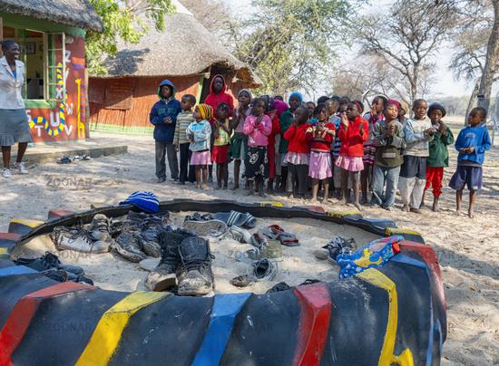 Namibia, Africa. Rundu, Kavango
