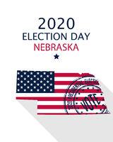 2020 Nebraska vote card