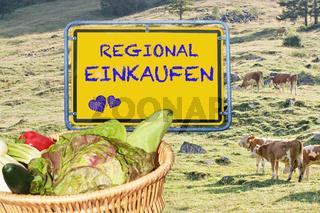 Regional Einkaufen