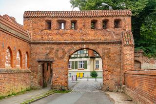 Historisches Tor zum Bad Doberaner Münster, Mecklenburg-Vorpommern, Deutschland
