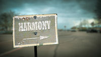 Street Sign to Harmony