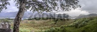 Landscape panorama at Ladies View
