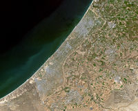 Gaza from space