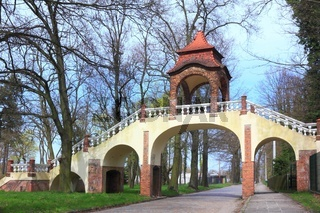 Renaissance Bridge of Beloved in Ilowa Poland