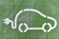 Parkplatz für Elektroautos | Parking for electric cars