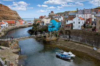 High Angle View of Staithes