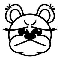 Lustiger Bär - sauer