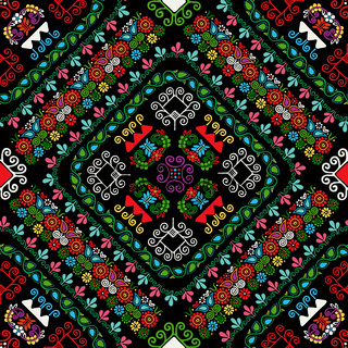 Hungarian embroidery pattern 30